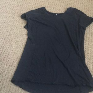 EUC Lululemon Black Shirt Size Either S or M
